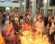 Всенощное бдение в Свято-Духовом монастыре (15 сентября 2018 года)