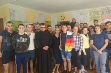 Священнослужитель посетил наркоцентр в Краснооктябрьском районе Волгограда