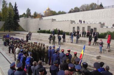 Торжественные мероприятия, посвященные памяти Константина Недорубова, прошли на Мамаевом кургане