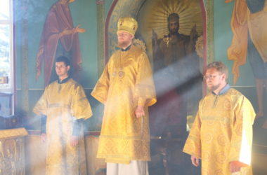 Божественная литургия в Неделю 19-ю по Пятидесятнице