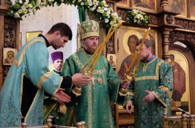 Литургия в день памяти преподобного Сергия Радонежского