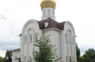 Божественная литургия в храме святых великомучениц Веры, Надежды, Любви и Софии