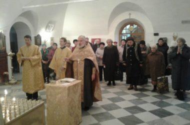 Панихида по жертвам репрессий прошла в Иоанно-Предтеченском храме