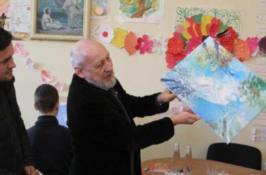 Известный волгоградский художник Владислав Коваль провел мастер-класс для детей с ОВЗ