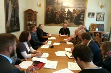 Епископ Городищенский Феоктист провел совещание рабочей группы по подготовке казачьей секции Рождественских чтений