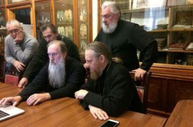 Прошло совещание по вопросам внутреннего убранства строящегося Александро-Невского собора