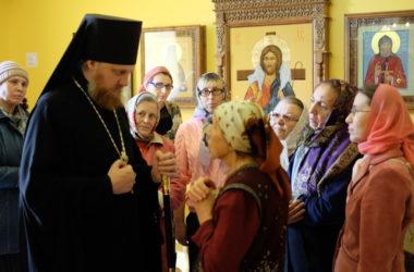 Божественная литургия в храме Димитрия Солунского (город Камышин)