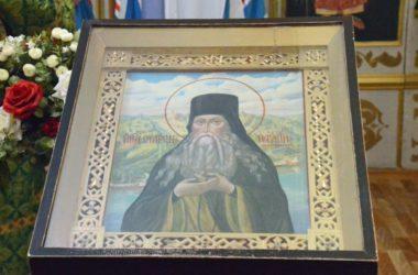 Божественная литургия в престольный праздник храма преподобного Паисия Величковского