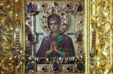 Мироточивая икона Богородицы «Семистрельная» прибывает в Волгоград