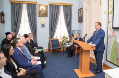 Представители Волгоградской епархии стали членами Императорского Православного Палестинского общества