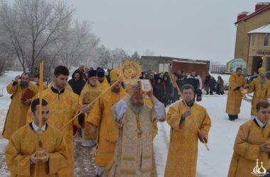 В Калачевской епархии состоялось Великое освящение собора
