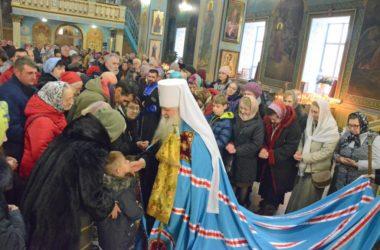 Божественная литургия в Неделю 27-ю по Пятидесятнице