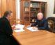 Рабочая встреча епископа Городищенского Феоктиста с председателем ДОСААФ России в Волгоградской области
