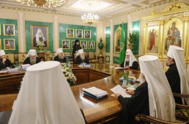 Журнал заседания Священного Синода Русской Православной Церкви № 109