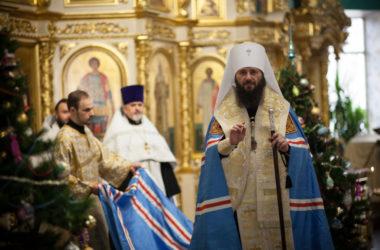 Благодарственный молебен в Казанском соборе