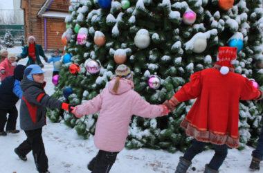 Рождественские елки в Волгограде