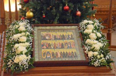 Божественная литургия в храме Рождества Богородицы