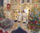 Божественная литургия в день отдания праздника Рождества Христова