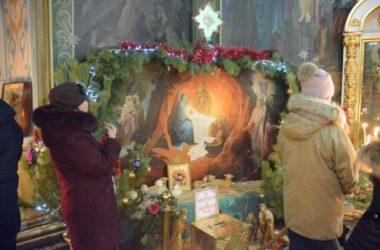 Рождественская Божественная Литургия  в Казанском соборе