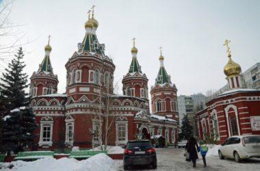 Божественная литургия в Казанском соборе (9 января 2019 года)