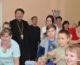 Воспитанники воскресной школы «Сретение» посетили в праздник людей, нуждающихся в заботе
