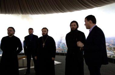 Владыка Феодор посетил музей-панораму «Сталинградская битва»