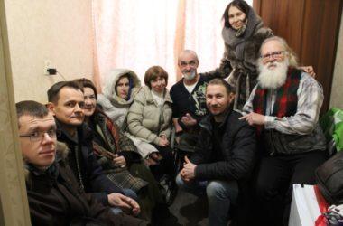 Волонтеры «Лепты» поздравили с Рождеством известного путешественника инвалида Алексея Костюченко