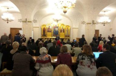 Председатель СОВЦОиСМИ встретился с руководителями информационных отделов епархий и митрополий РПЦ МП