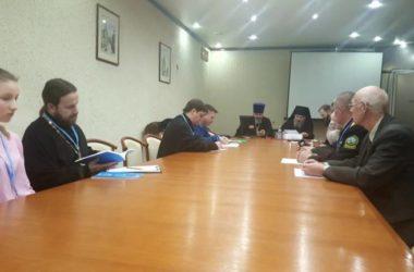 Благочинный Тракторозаводского округа принял участие в работе казачьего направления Международных Рождественских образовательных чтений