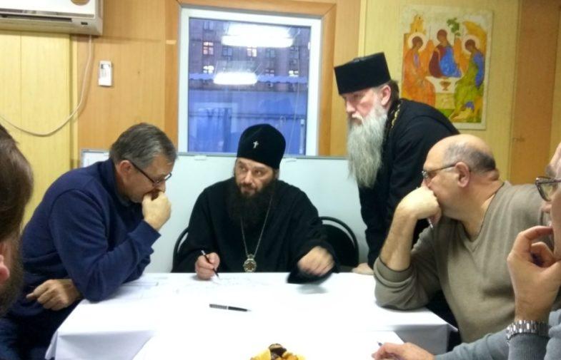Митрополит Волгоградский и Камышинский Феодор провел рабочее совещание по строительству собора Александра Невского