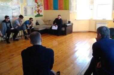 Священнослужитель посетил центр реабилитации для страдающих наркозависимостью