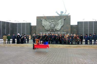 Митрополит Волгоградский и Камышинский Феодор принял участие в патриотической акции «Дорога памяти»