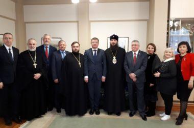 Митрополит Волгоградский и Камышинский Феодор посетил ВГСПУ