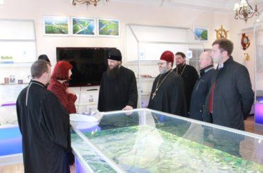 Глава Волгоградской митрополии посетил храм на Волго-Донском канале