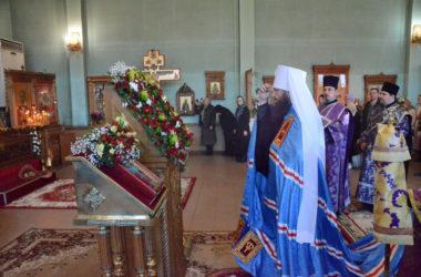 Богослужение в канун празднования памяти священномученика Николая Попова