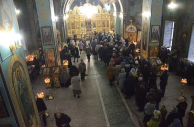 Всенощное бдение в Казанском соборе (16 марта 2019 года)