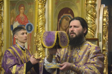Божественная литургия в Неделю первую Великого поста