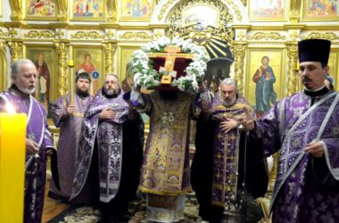 Всенощное Бдение в Казанском кафедральном соборе 30 марта