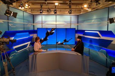 Митрополит Феодор дал интервью областному телевидению