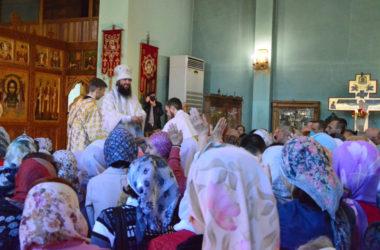 Божественная литургия в субботу Страстной седмицы
