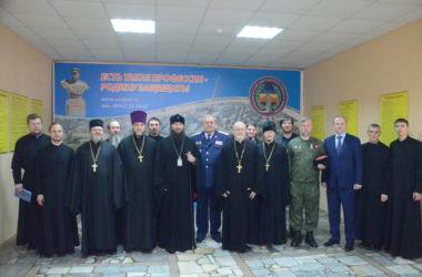 Владыка Феодор посетил казачий кадетский корпус имени Недорубова