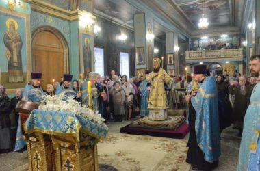 Всенощное Бдение в Казанском кафедральном соборе