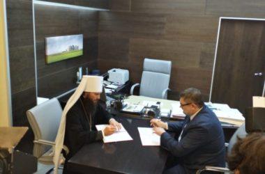 Волгоградская епархия заключила соглашение о сотрудничестве с ВолГУ
