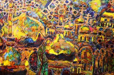 Выставка «Дорога к храму» автора с ограничениями по здоровью открылась в музее Машкова