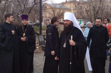 Владыка Феодор совершил Литургию Преждеосвященных Даров в храме при больнице № 4