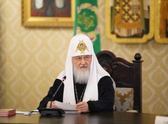Слово Святейшего Патриарха Кирилла на заседании Высшего Церковного Совета 17 апреля 2019 года