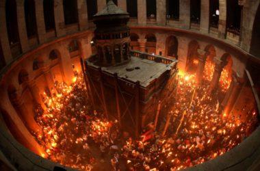Молодежь проведет интеллектуальную игру, посвященную чуду схождения Благодатного огня на Пасху