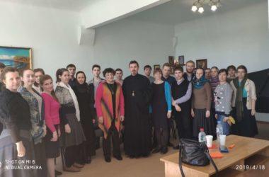Органистка Любовь Шишханова встретилась со студентами Царицынского православного университета
