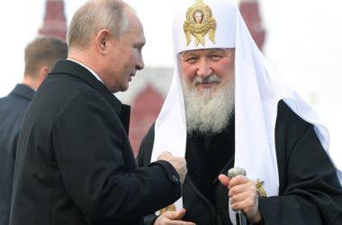 Путин поздравит Патриарха Кирилла с тезоименитством