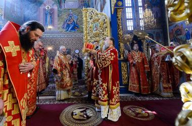 Митрополит Феодор принял участие в торжествах в память 20-летия учреждения Астанайской и Алма-Атинской епархии